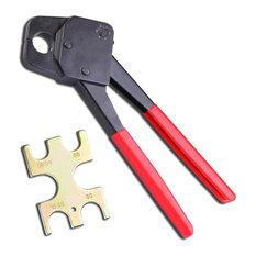 """3/4"""" Pex Crimping Crimper Copper Ring With Go/No Go Gauge Plumbing Crimp Tool"""