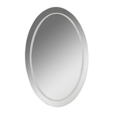 50 Most Popular Oval Bathroom Mirrors For 2019 Houzz
