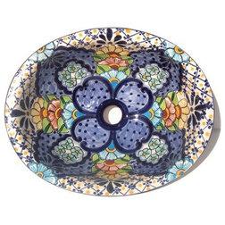 Mediterranean Bathroom Sinks by Fine Crafts & Imports