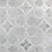 Berkshire Polished Marble Waterjet Tile