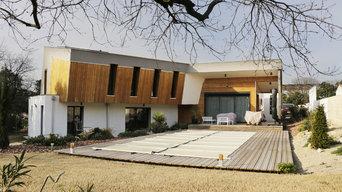 Maison ossature bois dans l'hérault