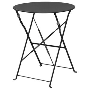 Cafe Outdoor Patio Table, Black