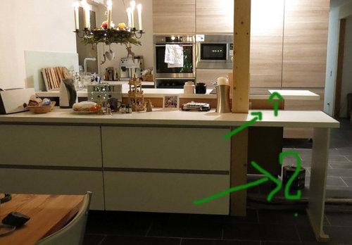 Suche: Ideen für unsere Kücheninsel/Tresen