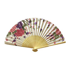 Chinese Retro Folding Fans Cosplay Handheld Fan Best Gift # 02