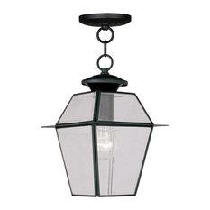 Westover Outdoor Chain-Hang Light, Black