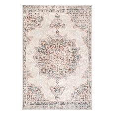 nuLOOM Liliana Vintage-Style Area Rug, Beige, 12'x15'