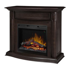 Gwendolyn Mantel Electric Fireplace With Logs