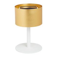La Lampe Pose Solar Table Lamp, Gold