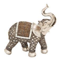 Head Held High Elephant Figurine