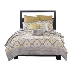 Contemporary Quilts And Bedspreads Houzz