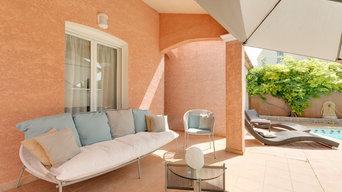 Aménagement d'un salon dans une maison à Narbonne