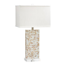 Cyan Design Mother of Pearl Palm Sands Table Lamp With 1 Light 100W