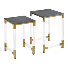 Elk Home 1218-1013/S2 Consulate - 22-inch Nested Table (Set Of 2)