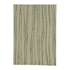 Jaipur Living National Geographic Tendril Indoor Outdoor Fl Green Gray Area Rug
