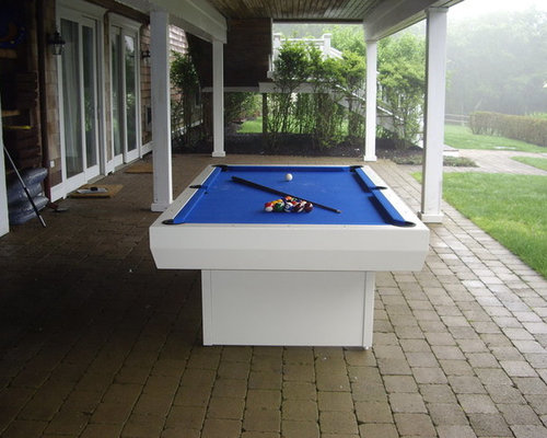 Waterproof Penthouse Outdoor Pool Table   Patio Furniture And Outdoor  Furniture