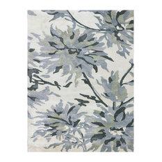 Shimmer Floral Hand-Tufted Rug 8'x11'