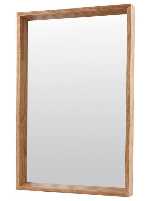 Oak Spegel 40x60cm - Vægspejle
