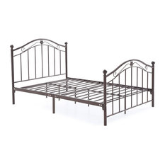 Metal Bed, Bronze, Full