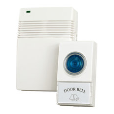 trademark home wireless remote control doorbell with 10 different chimes by trademark home doorbells