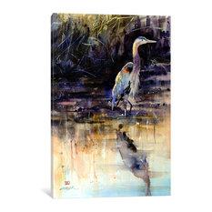 """""""Heron"""" by Dean Crouser, 26x18x0.75"""""""
