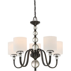 Luxury Transitional Chandeliers by Quoizel