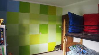 Unmerchandised Minecraft Themed Boys Bedroom
