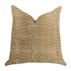 """Plutus Diamond Gem Luxury Throw Pillow, 20""""x26"""""""