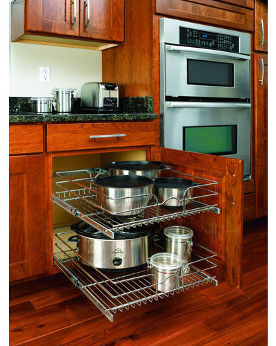 kitchen cabinet fittings with universal design in mind