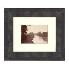 """Grasshopper Creek"" Sepia Tone Framed Photo, 20""X28"""