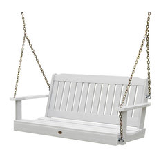 Lehigh Porch Swing, White, 4'
