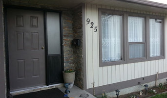exterior smart board cultered stone paint