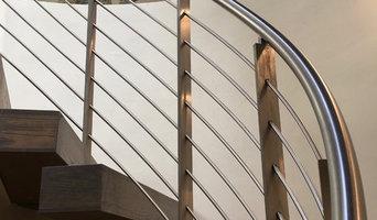 Lido Island Custom Home 3 Story Spiral Staircase
