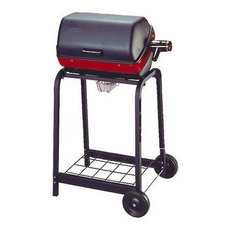 Electric Cart Grill With Wire Shelf