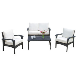 Vintage Contemporary Outdoor Lounge Sets by GDFStudio