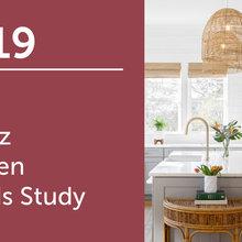 2019 U.S. Houzz Kitchen Trends Study