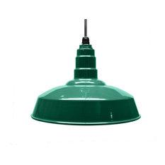 """16"""" Standard Steel Warehouse Style Pendant Light"""