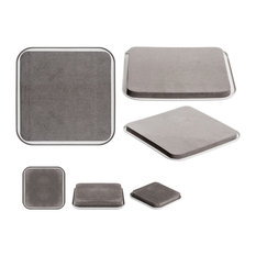 Imperial Home   8 Piece Heavy Duty Super Furniture Sliders Floor Protectors  Furniture Pads