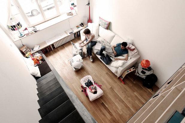 Contemporain Salon by 37.2 architecture
