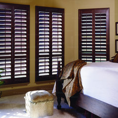 Wood And Faux Shutters