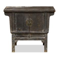 Antique Elmwood Chinese Altar Cabinet