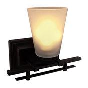 Canarm Ava Single Light Vanity Fixture Oil Rubbed Bronze