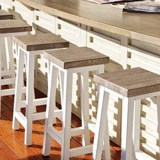Shop Beach Style Bar Stools Amp Kitchen Stools On Houzz