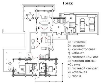 Внутренний план by Архитектурное бюро LOFTING