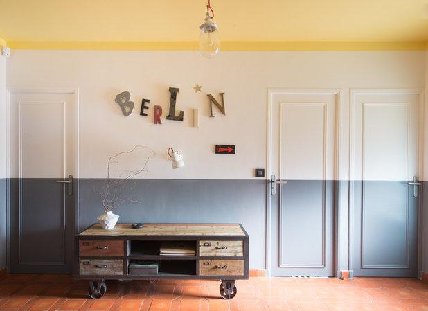 14 idées pour peindre un couloir