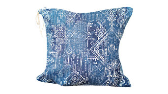 Navy Blue Boho Pillow Cover