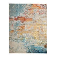 Nourison Celestial Contemporary Area Rug, Sealife, 10'x14'