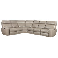 Mowry 4-Piece Power Motion Sectional With Power Headrest