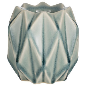 Geometric Crackle Glaze Ceramic Tea Lightolder