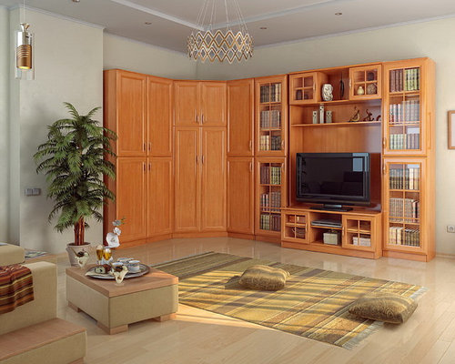 Boston 8 PC Corner Display/Wall Unit   Entertainment Centers And Tv Stands Part 87