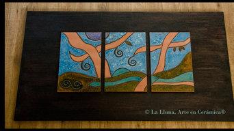Murales en Esmaltes (Cuerda Seca) medida 1,20*55cm